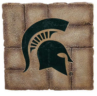 Michigan State University Team Sports America Garden Paver Stepping Stone