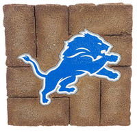 Detroit Lions Team Sports America Garden Paver Stepping Stone