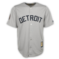 Detroit Tigers 1968 Cooperstown by Majestic Cool Base Road Replica Jersey