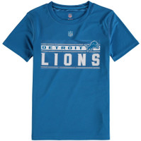 Detroit Youth Outerstuff Lions Re-Generation Performance T-Shirt