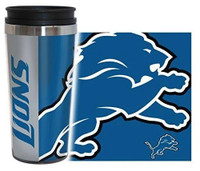 Detroit Lions Boelter Brands 16oz Travel Hype Tumbler
