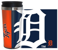 Detroit Tigers Boelter Brands 16oz Travel Hype Tumbler