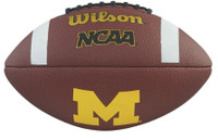 University of Michigan Wilson Composite Logo Football