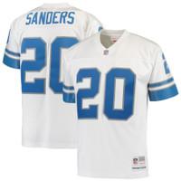 Barry Sanders Autographed Detroit Lions White Jersey (Pre-Order)