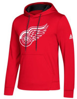 Detroit Red Wings Men's Adidas NHL 2.0 Twill Logo Hoodie