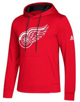 Detroit Red Wings Men's 2018 Adidas Fleece Pullover Hoodie