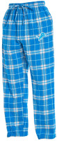 Detroit Lions Men's NFL Team Apparel Blue Huddle Sleep Pants
