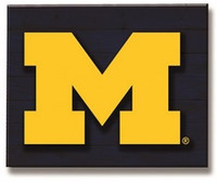 University of Michigan Team Sports America Lit Wall Décor