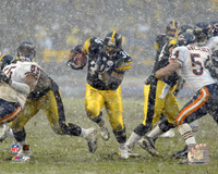 Jerome Bettis Autographed 16x20 #3 - In The Rain (horizontal) (Pre-Order)