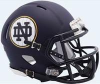 Jerome Bettis Autographed Notre Dame Shamrock Series Mini Helmet (Pre-Order)