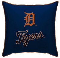 "Detroit TIgers Pegasus Sports LLC 18""x18"" Standard Decorative Pillow"