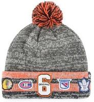 Original Six 47 Brand Henrick Cuffed Knit Hat With Pom