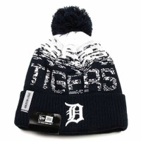Detroit Tigers New Era 2017 Home On-Field Knit Hat