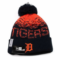 Detroit Tigers New Era 2017 Road On-Field Knit Hat