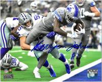 Kerryon Johnson Autographed Detroit Lions 8x10 #1 - 1st NFL TD