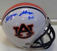 Kerryon Johnson Autographed Auburn Tigers Mini Helmet