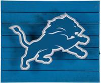 Detroit Lions Team Sports America Lit Wall Décor