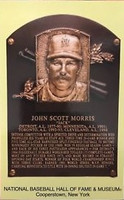 Jack Morris Baseball Hall of Fame Plaque Postcard