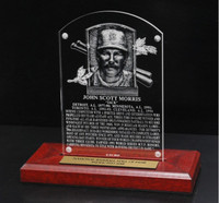Jack Morris Acrylic Replica Hall of Fame Plaque