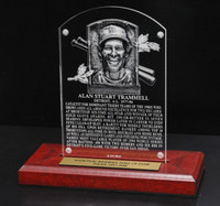 Alan Trammell Acrylic Replica Hall of Fame Plaque