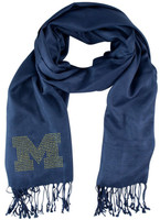 University of Michigan Little Earth Productions Jewel Logo Pashi Women's Scarf