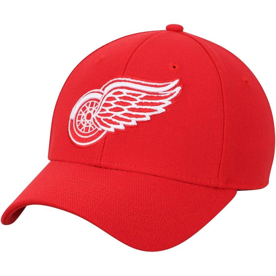 best selling online retailer pre order Detroit Red Wings Men's Adidas Red Core Flex Hat