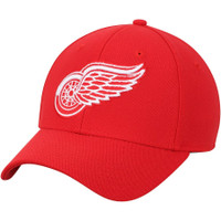 Detroit Red Wings Men's Adidas Red Core Flex Hat