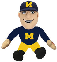 "University of Michigan Santa's Workshop Animated/Musical Fan Décor, 9"" - Multicolored"
