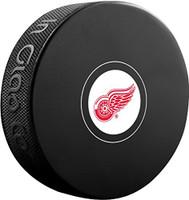 Michael Rasmussen Autographed Detroit Red Wings Souvenir Puck (Pre-Order)