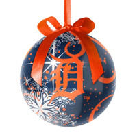 Detroit Tigers Topperscot Decoupage Ball Ornament
