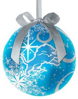 Detroit Lions Topperscot Decoupage Ball Ornament
