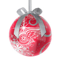 Detroit Red Wings Topperscot Decoupage Ball Ornament