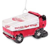 Detroit Red Wings Topperscot Glitter Zamboni Ornament