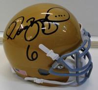Jerome Bettis Autographed Notre Dame Mini Helmet