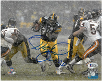 Jerome Bettis Autographed Pittsburgh Steelers 8x10 Photo #1