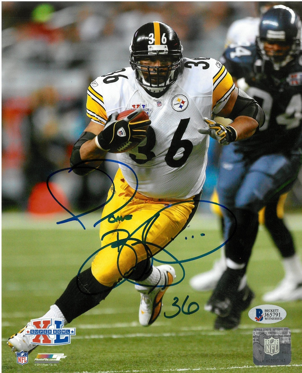 6f2791993c3 ... Jerome Bettis Autographed Pittsburgh Steelers 8x10 Photo  2. Image 1.  Loading zoom