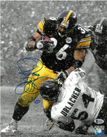 Jerome Bettis Autographed Pittsburgh Steelers 11x14 Photo #1