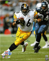 Jerome Bettis Autographed Pittsburgh Steelers 16x20 Photo #2