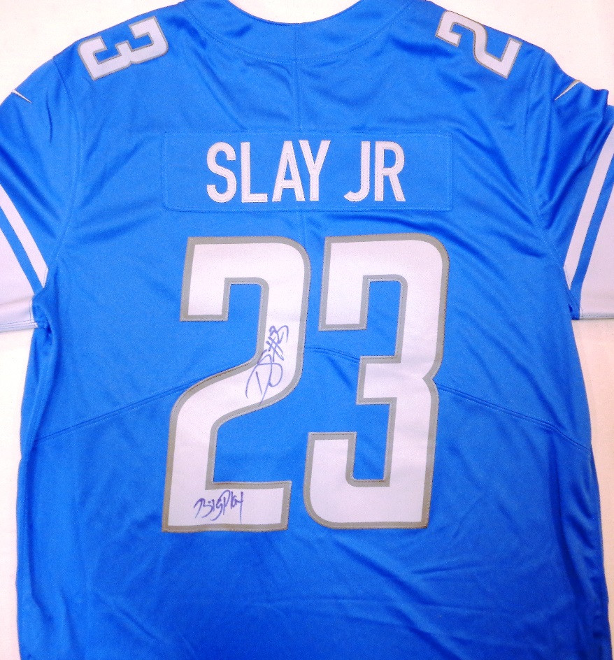 sports shoes 38332 08e4c Darius Slay Autographed Detroit Lions Jersey inscribed with