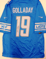 Kenny Golladay Autographed Detroit Lions Jersey