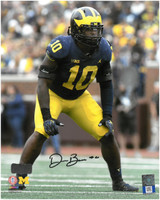 Devin Bush Jr. Autographed 8x10 Photo #2 - Ready for the Play (Pre-Order)