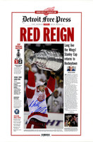 Nicklas Lidstrom Autographed 16x24 Red Reign Poster (pre-order)