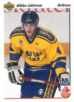 Nicklas Lidstrom Autographed 1991/92 Upper Deck Rookie Card (pre-order)