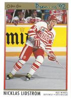 Nicklas Lidstrom Autographed 1991/92 OPC Premier Rookie Card (pre-order)