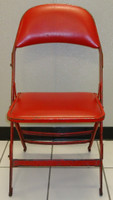 Dylan Larkin Autographed Joe Louis Arena Original Padded Folding Chair (Pre-Order)