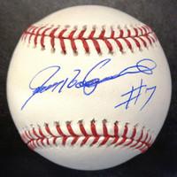 Ivan Rodriguez Autographed Baseball - Official Major League Ball