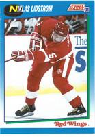 Nicklas Lidstrom Autographed 1991/92 Score Rookie Card (pre-order)