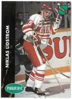 Nicklas Lidstrom Autographed 1991/92 Parkhurst Rookie Card (pre-order)