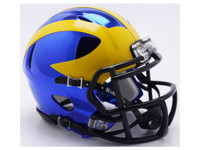 Jabrill Peppers Autographed Michigan Chrome Mini Helmet (pre-order)