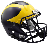 Jabrill Peppers Autographed Michigan Speed Replica Helmet (pre-order)